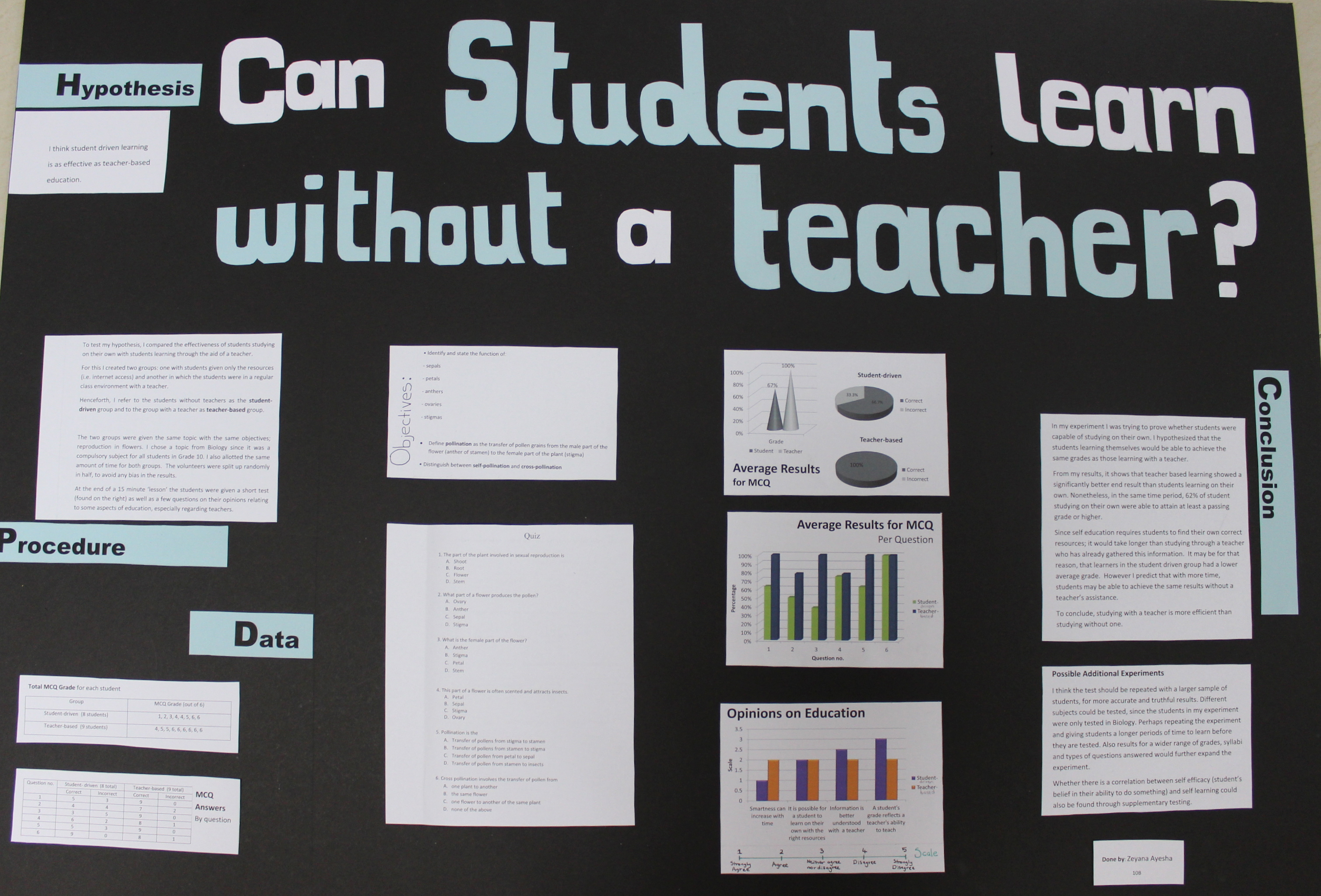 science fair project questionnaires Tests/questionnaires: 1:  describes the implementation and assessment of a service learning project involving an earth science fair  this guide to science fair.